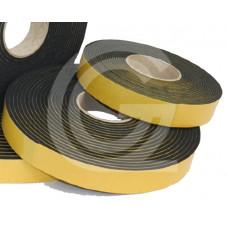 Neopreen (cr) celrubberband | zelfklevend | 1 x 9 mm | rol 30 meter