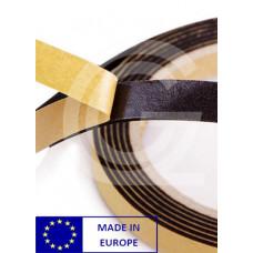 Celrubberband | zelfklevend | EPDM | 2 x 10 mm | rol 10 meter