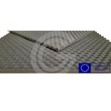 Geluidsabsorberend noppenschuim | Isolatieschuim polyurethaan | 150 x 100 cm