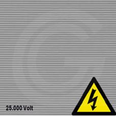 Fijnribloper | elektrisch isolerend (VDE) | grijs | 3  mm | 1.00 breed | rol 10 meter