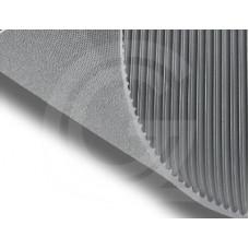 Fijnribloper SBR | Grijs | 3 mm | 1.00 breed | rol 10 meter