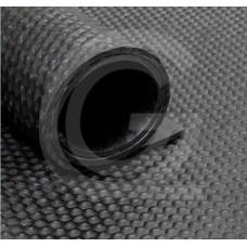 Hamerslagloper | SBR | zwart | 8 mm | 1.80 breed | rol 10 meter