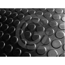 Noppenloper | SBR | zwart | 3 mm | 1.20 breed | rol 10 meter