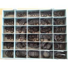 O-ring assortiment box C | METRISCH-standaard | kleine ringen | NBR | 70 Shore A