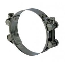 Slangklem 2-delig | gegalvaniseerd staal | klembereik 40 t/m 265 mm