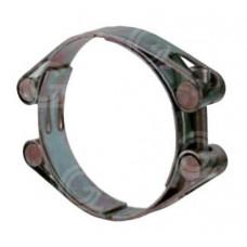 Slangklem 2-delig | heavy duty | gegalvaniseerd staal | klembereik 110 t/m 231 mm
