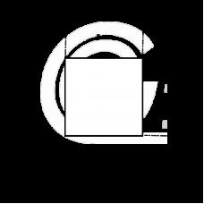 Siliconen vierkantsnoer wit | FDA keur | 8 x 8 mm | Per meter