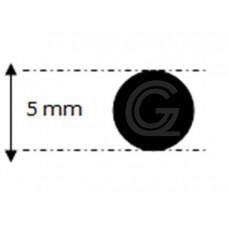 EPDM rubber rondsnoer |Ø 5 mm | per meter