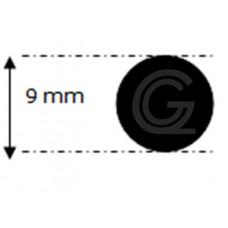 EPDM rubber rondsnoer |Ø 9 mm | per meter