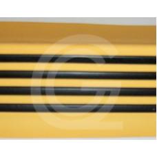 Trapneus | geel-zwart | stuk 4,5 meter